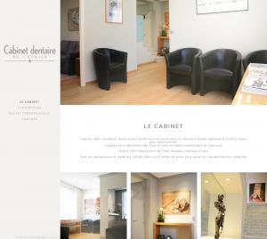 Création site web cabinet dentisterie
