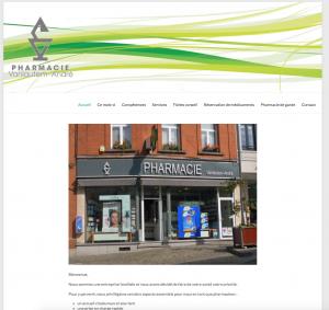 Création site web pharmacie vanlautem - andré