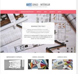 Création site web architecte d'intérieur