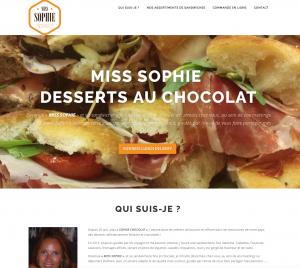 Création site web commande de sandwiches en lignes